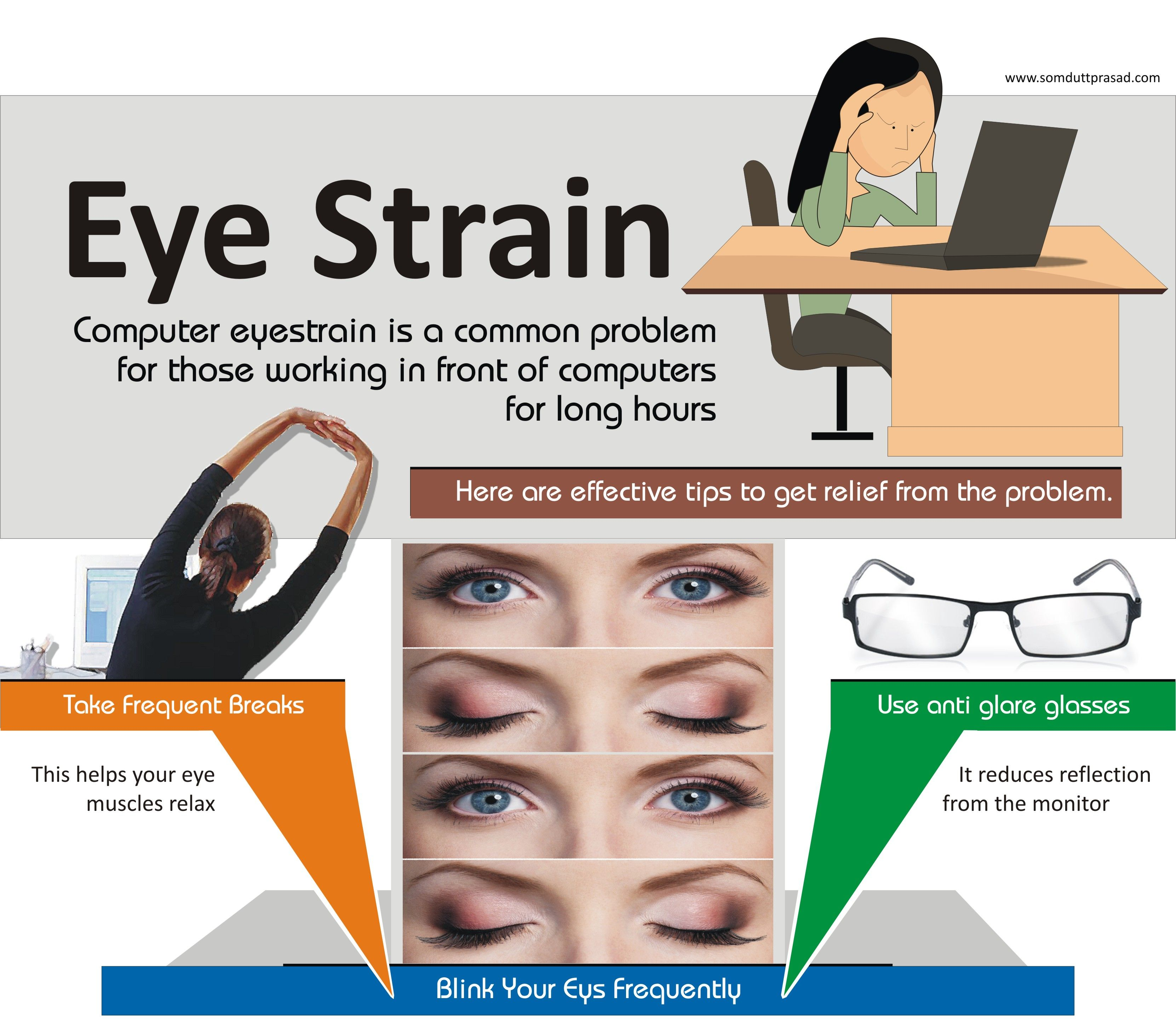 10 easy steps to get computer eye strain relief loveyoureyes 10 easy steps to get computer eye strain relief loveyoureyes eye saving healthcare maintenance pinterest eye and eyes problems nvjuhfo Gallery