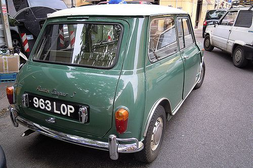 "Austin Mini Cooper S ( ""Marples Hatchback"" ) owned when new by Minister of transport Ernest Marples"