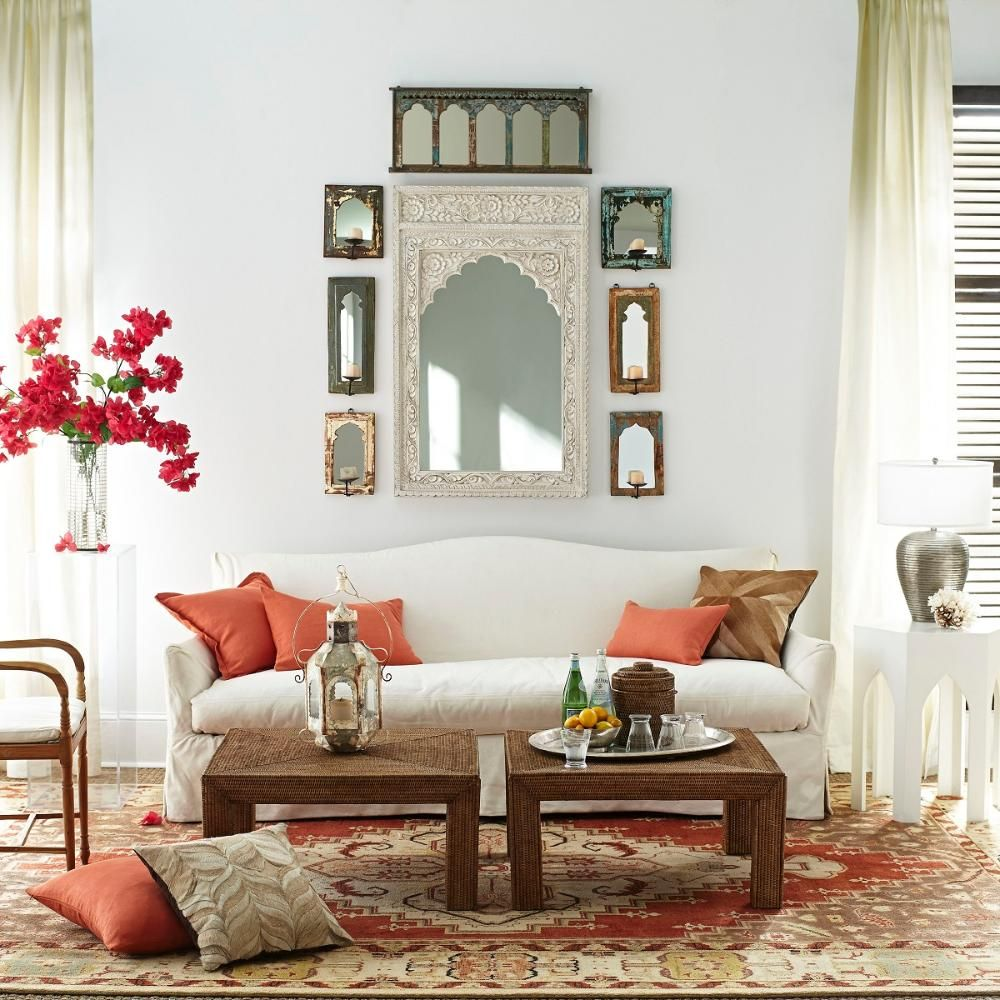 Rajasthani Mirror | Moroccan, Interiors and Living spaces