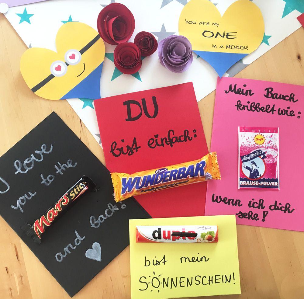 Die Besten Diy Ideen Zum Valentinstag Geschenke Pinterest