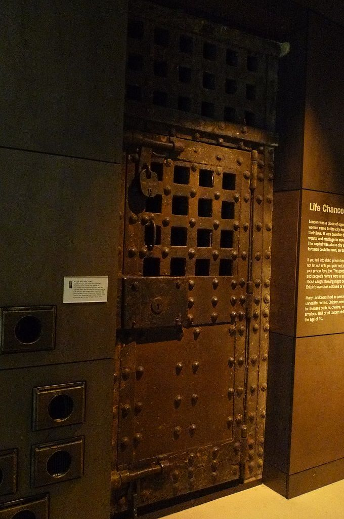 Door from Newgate Prison, Museum of London