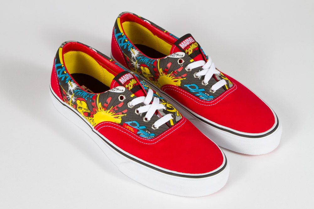 Vans x Marvel Collaborative Collection - Era and Sk8-Hi Reissue ...