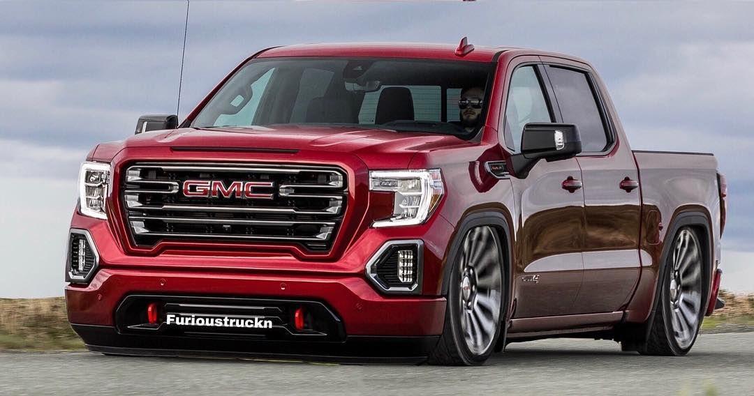 Rolling shot of the 2019 Sierra #gmc #photoshop #trucks # ...