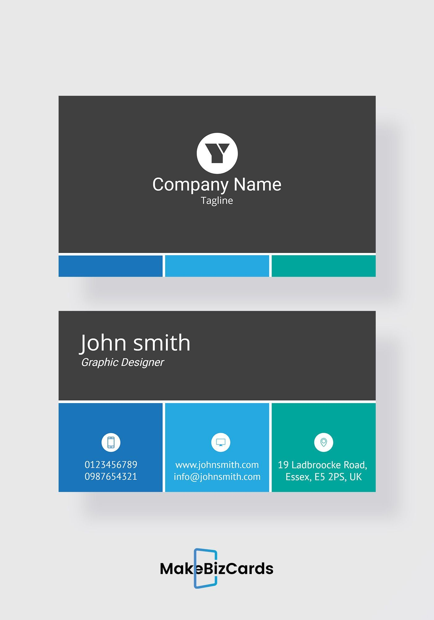 Free Sales Executive Business Card Trendy Business Cards