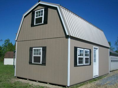 14x24 2 story gambrel barn with house door tiny house for 14x24 cabin plans