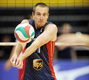 Team Usa Volleyball Brian Thornton Usa Volleyball Team Usa Athlete