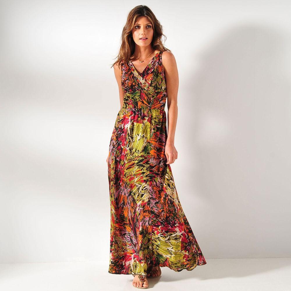 Imprimé Jungle La Robe Florale Blancheporte Qui Va Vous Accompagner - Blanche porte robe de soirée