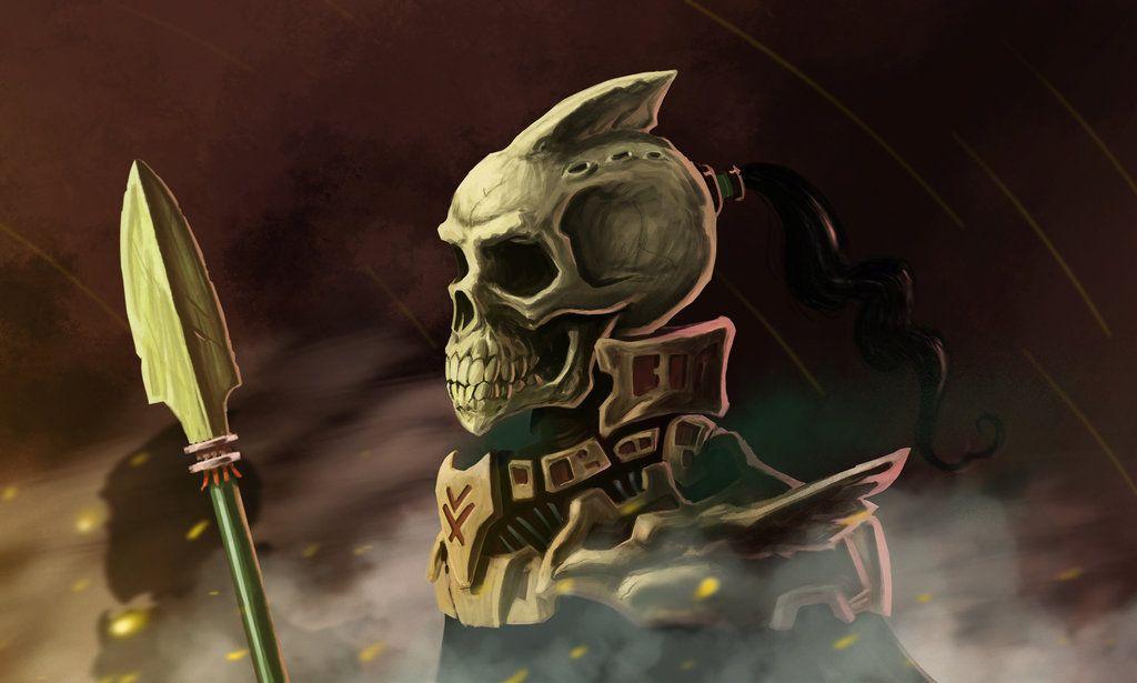 skeleton soldier by Entropician.deviantart.com on @DeviantArt