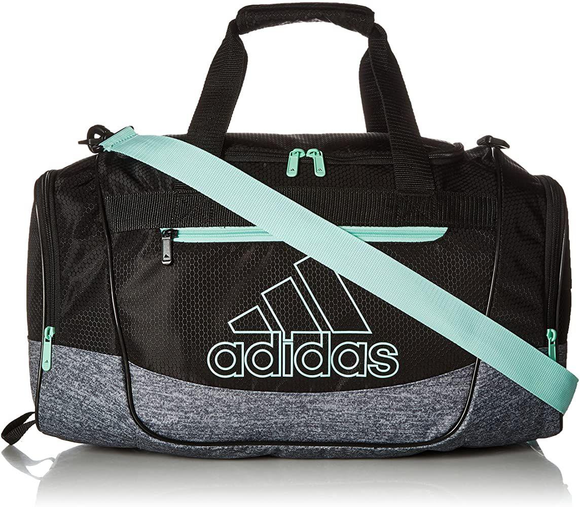 Amazon.com : adidas Unisex Defender III Small Duffel Bag, Black ...