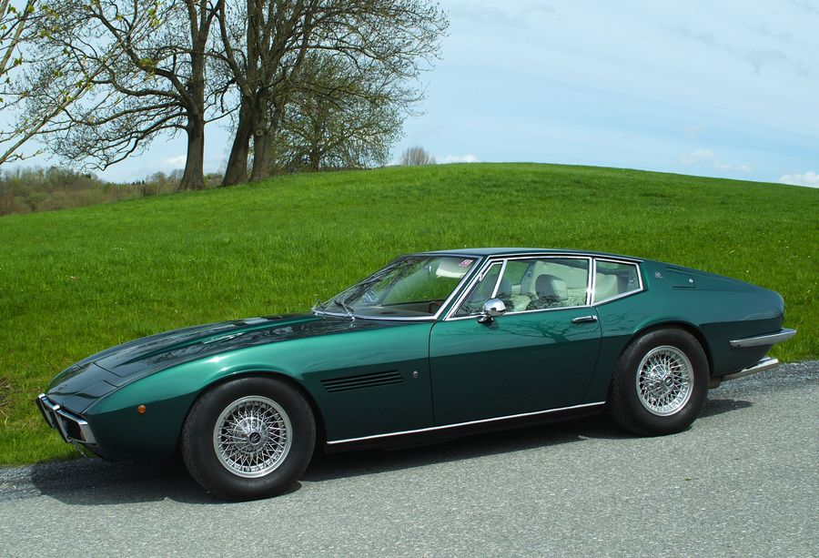 Det här har varit min drömbil ända sedan jag såg en i verkligheten i slutet av 60-talet - Maserati Ghibli