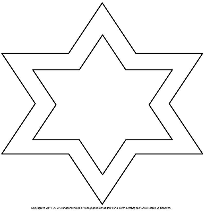Stern Vorlage Bilder | Stern Vorlage | Pinterest | Sterne ...