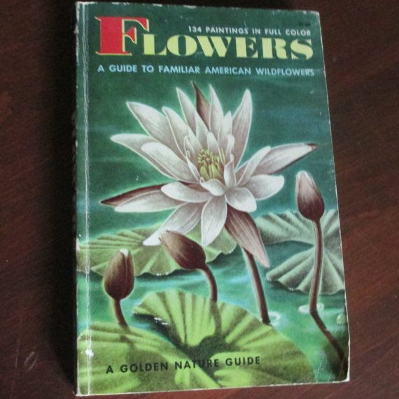 Flowers  A Guide to Familiar American by VintagePeaceGallery #vintage#flowers