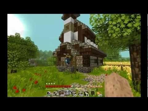 Minecraft Tutorial Mittelalter Haus Deutsch YouTube - Minecraft kleines haus bauen tutorial deutsch