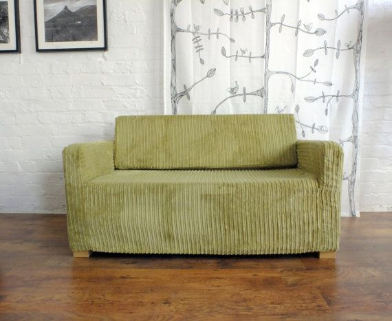 Remarkable Slip Cover For The Ikea Solsta Sofa Bed Corduroy Fabric Gmtry Best Dining Table And Chair Ideas Images Gmtryco