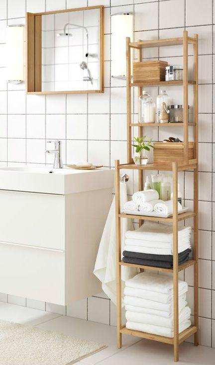 Ragrund Regal Aus Bambus L J Gerheim Wohnideen Bambus Badezimmer Kleine Badaufbewahrung Und Haus Deko