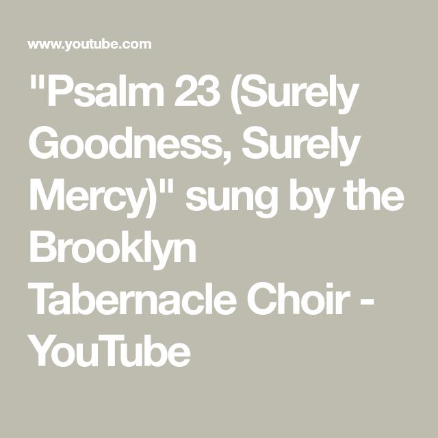 btc psalm 23