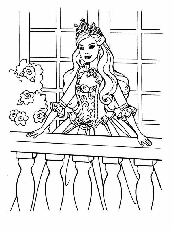 barbie coloring pages printable barbie coloring pages free barbie coloring pages online barbie - Princess Print Out Coloring Pages