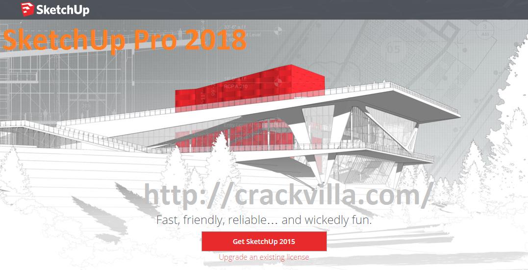 SketchUp Pro 2018 Crack Plus Keygen Download Free [Win + Mac