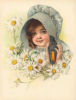 Коллекция картинок: Милые картинки с детьми от Maud Humphrey .Часть 1