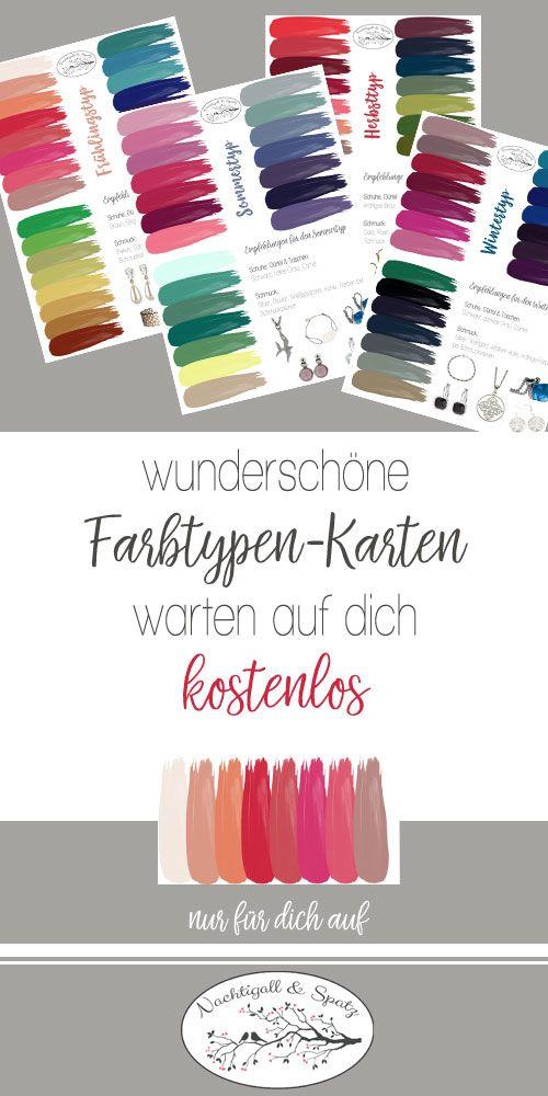 Landingpage freebie farbkarten in 2019 blog nachtigall - Farbkarten kostenlos ...