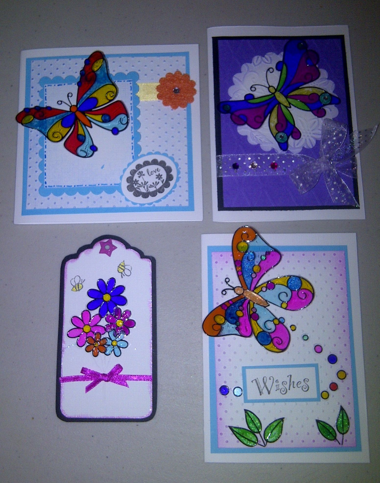 Cards tag made using acetate and glaze pens card ideas cards tag made using acetate and glaze pens jeuxipadfo Gallery