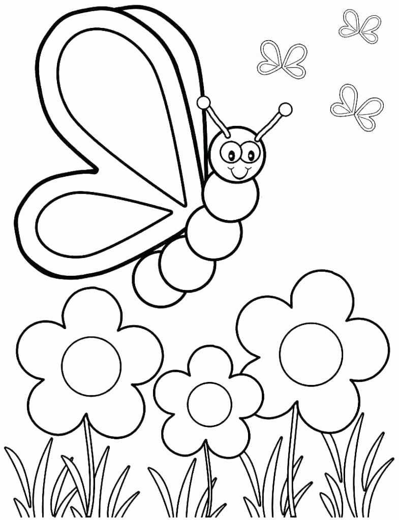 Coloring Activities For Kindergarten Printable Awesome Kindergarten Coloring Games Spring Coloring Sheets Kindergarten Coloring Pages Butterfly Coloring Page