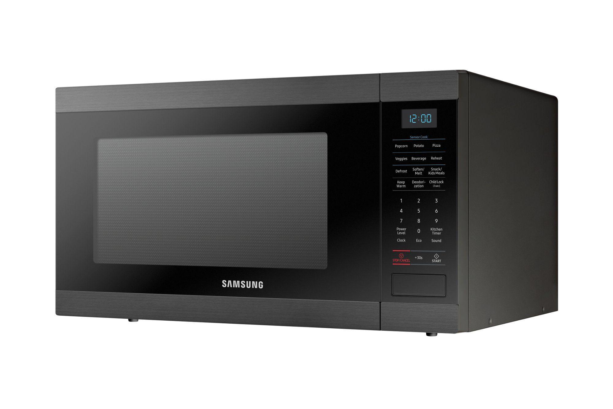Samsung Countertop Microwave 1 9 Cu Ft Black Stainless Steel