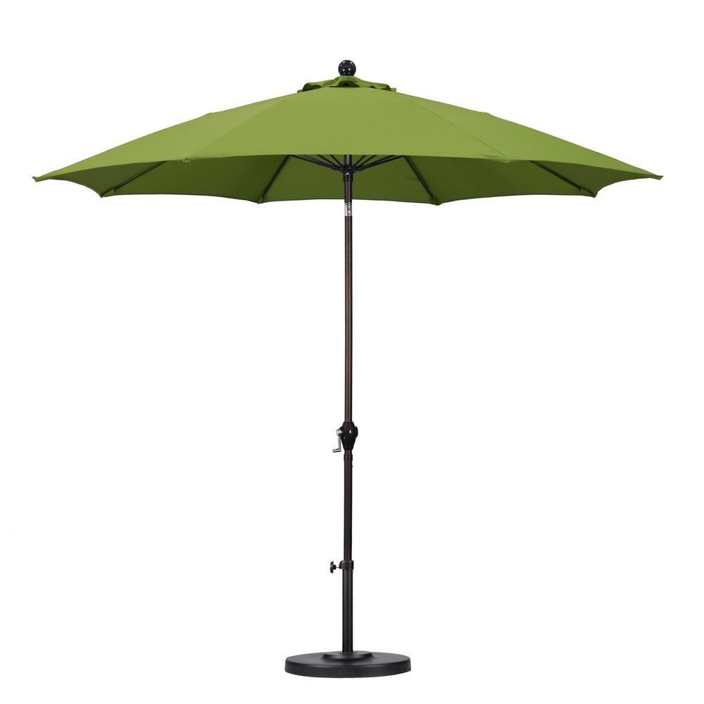 Fibergl Push Tilt Patio Umbrella