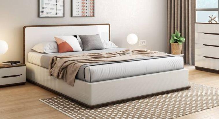صور سرير نوم مودرن للمتزوجين تصميمات حديثة Bed Design Modern Bedroom Bed Design Latest Wooden Bed Designs