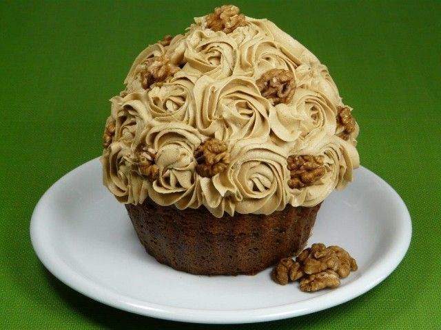 I Gave This Coffee And Walnut Cake A Twist By Making It Into A