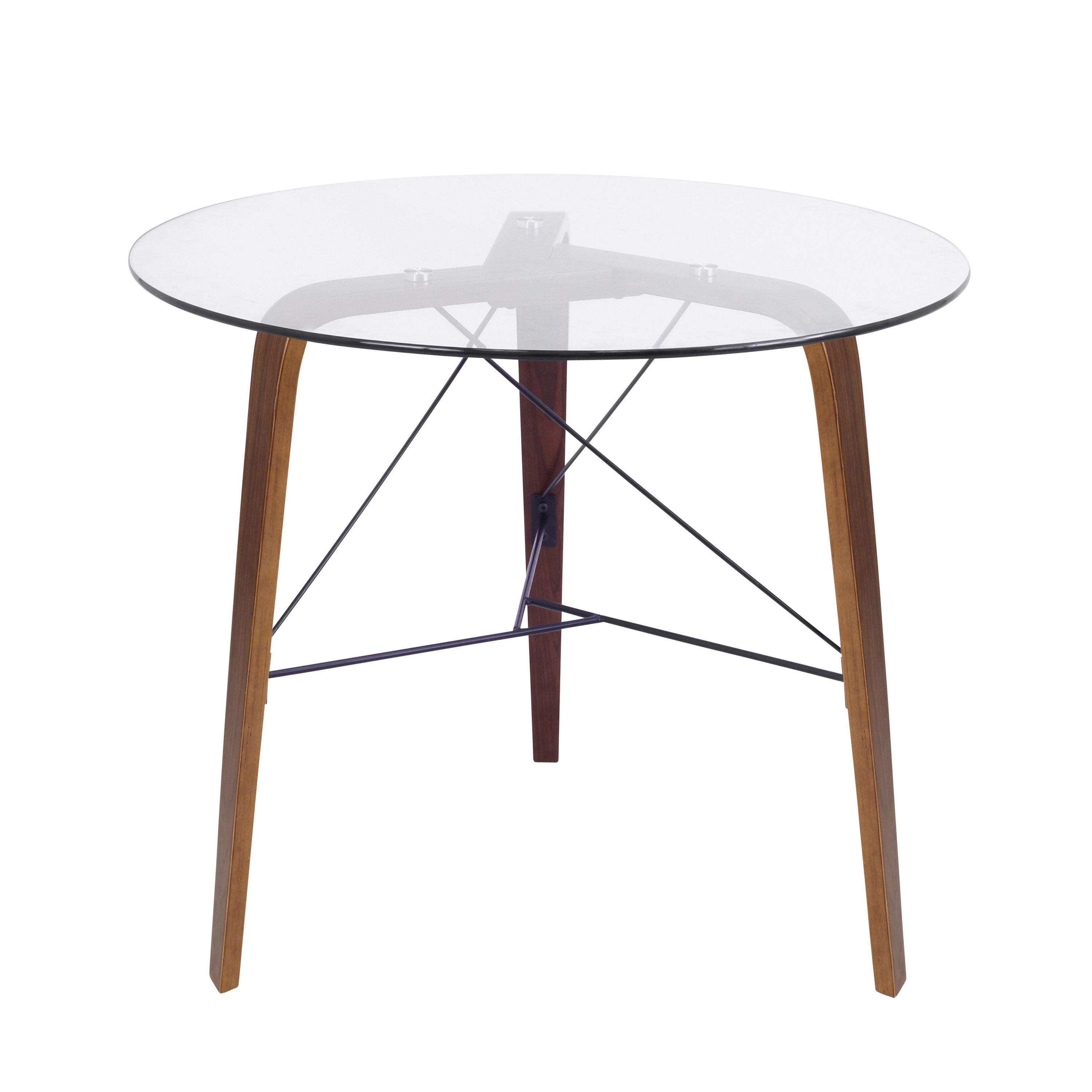 With Its Sturdy Construction Sleek Curves And Retro Flair The Bent - Mid century modern bistro table