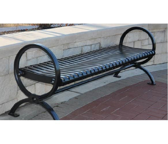 Wellington Backless Outdoor Bench 6 L Muebles Sillas Ornamentacion