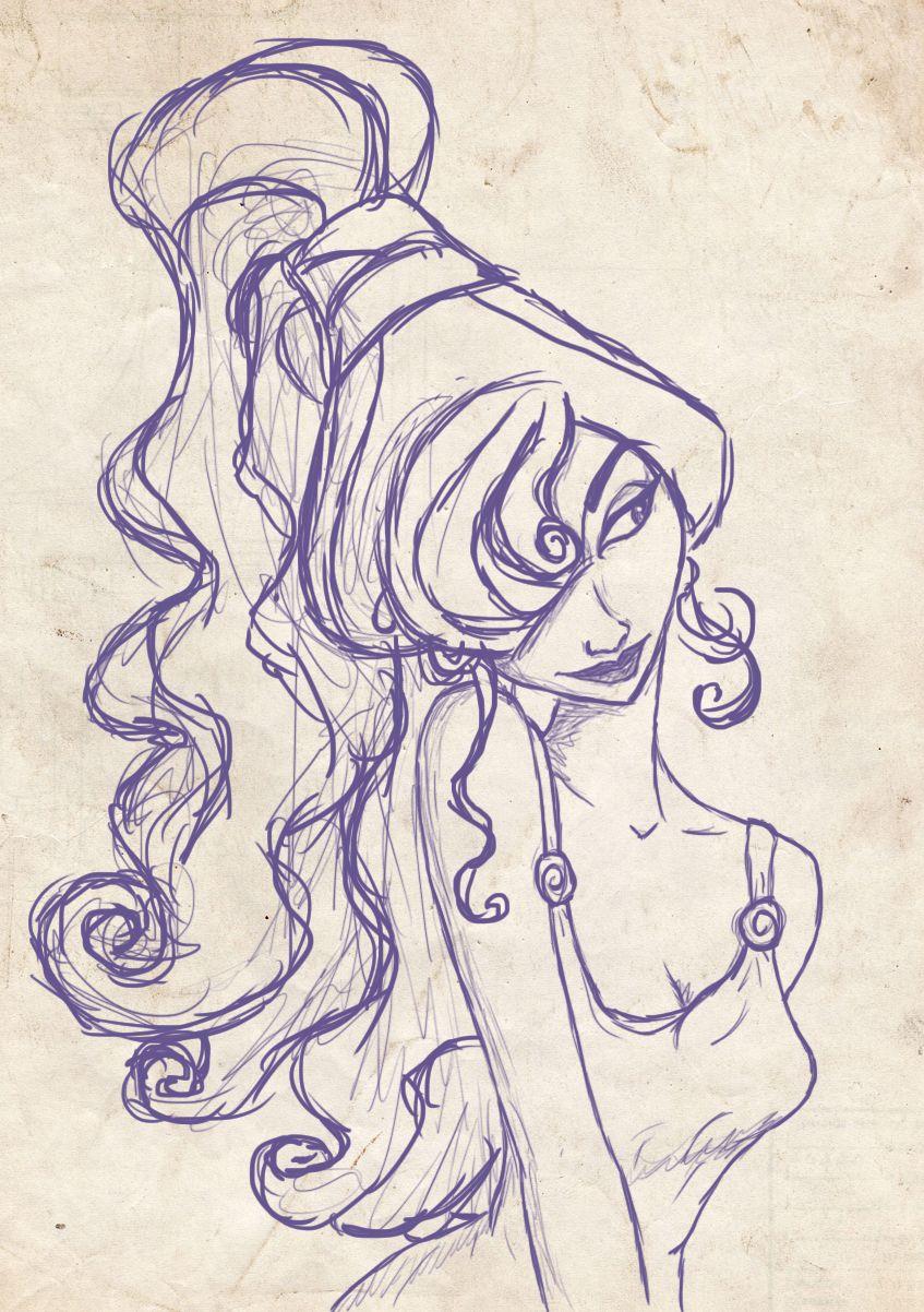 Hercules - Megara: disney | To draw | Pinterest | Herkules, Disney ...