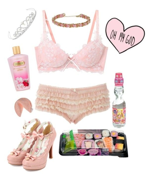 """Pretty princess"" by megan-p-hunter ❤ liked on Polyvore featuring Topshop, Jon Richard and Victoria's Secret"