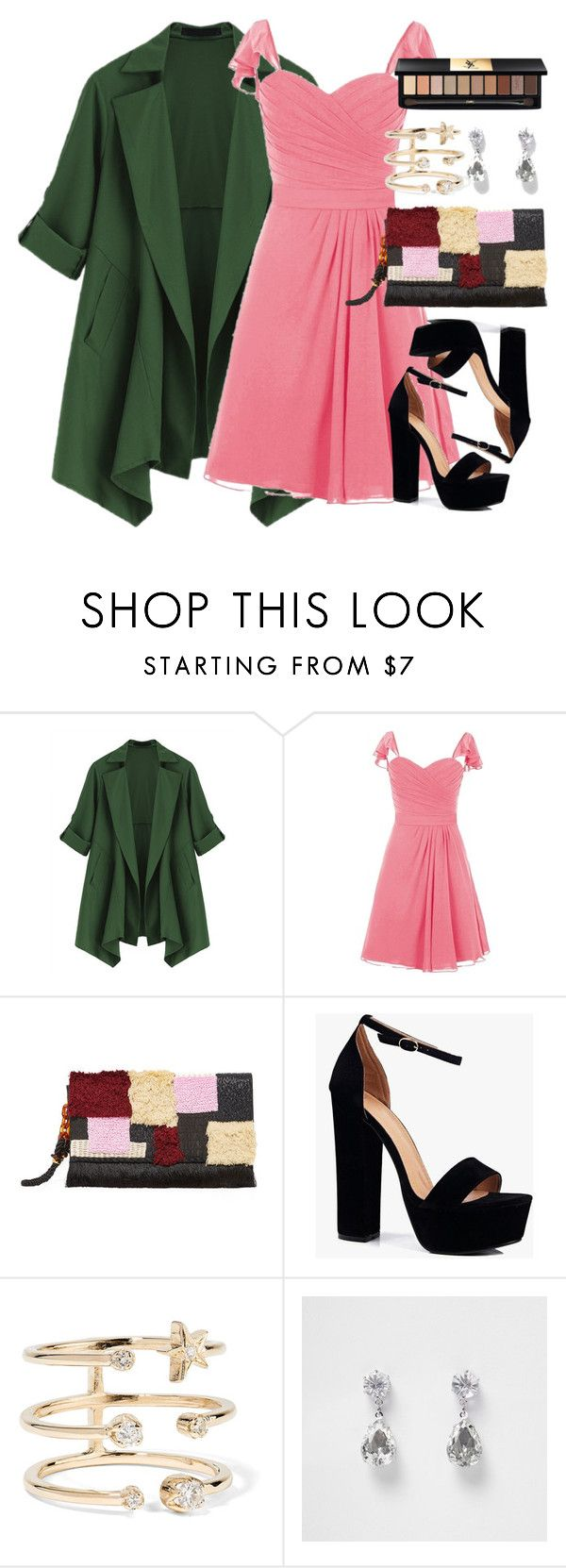 """""""Untitled #17"""" by bebebelabee on Polyvore featuring Lizzie Fortunato, Boohoo, Andrea Fohrman, River Island and Yves Saint Laurent"""