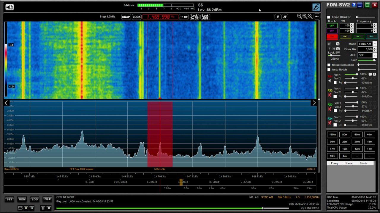 MW DX WWNN 1470 kHz, Pompano Beach, Florida copied in the