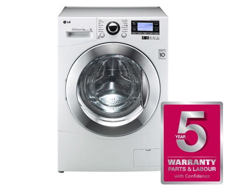 12kg 6 Motion Dd Washing Machine With Stylish Chrome Door Lg Stackable Washer Dryer Washer Dryer Combo Washer Dryer Combo Stackable