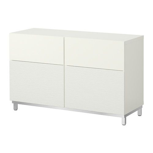 Ikea best storage combination w doors drawers for Ikea besta storage boxes
