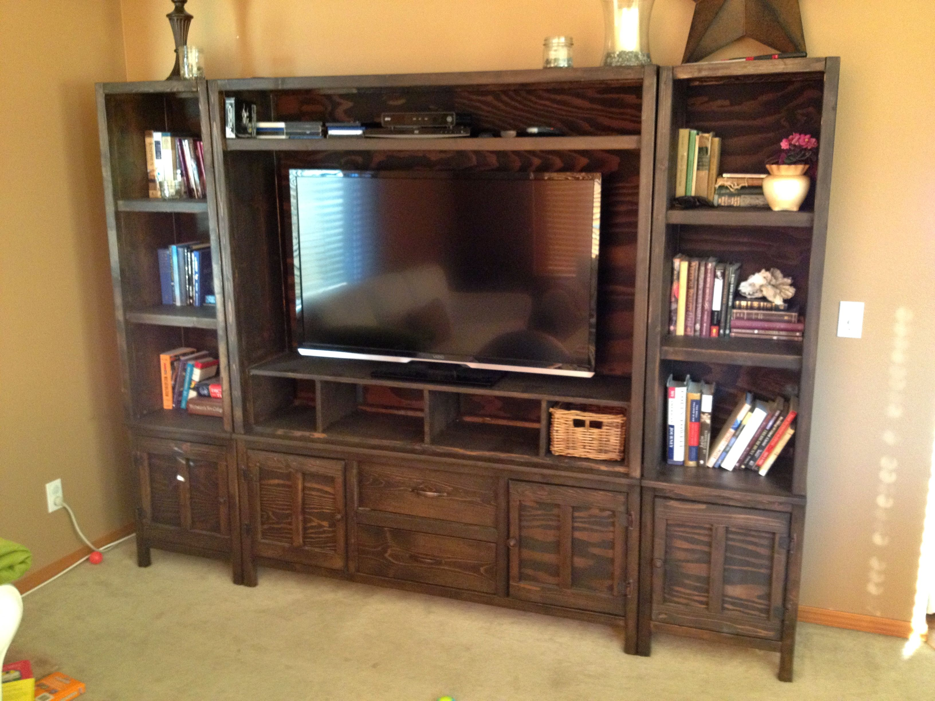 Entertainment center do it yourself home projects from ana white entertainment center do it yourself home projects from ana white solutioingenieria Choice Image