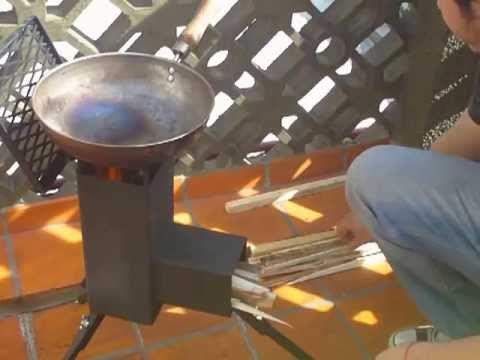 Como Hacer Una Cocina Cohete Casera Rocket Stove Youtube