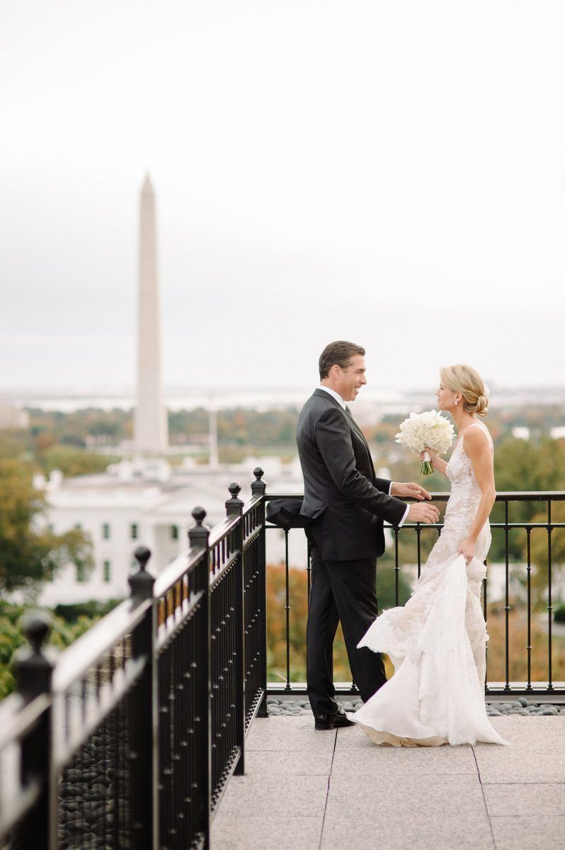 Bride And Groom Portraits At The Hay Adams In Washington D C Evoke Dc Sera Petras Photography Wedding Photography Inspiration Wedding First Look Hay Adams