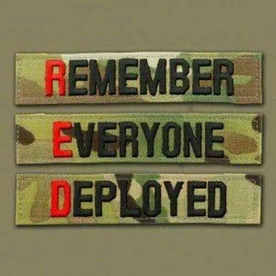 RED - Remember Everyone Deployed