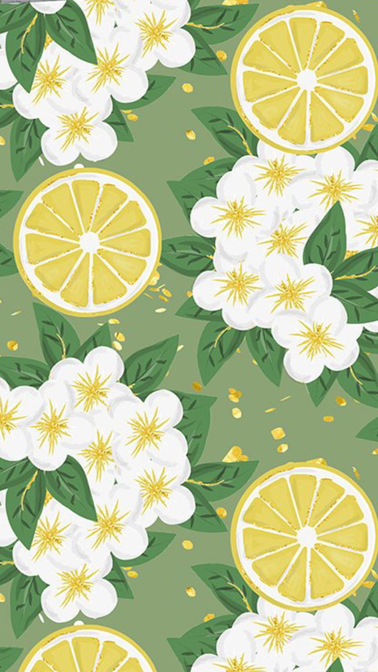 Summer dreams patterns wallpapers Fruit wallpaper