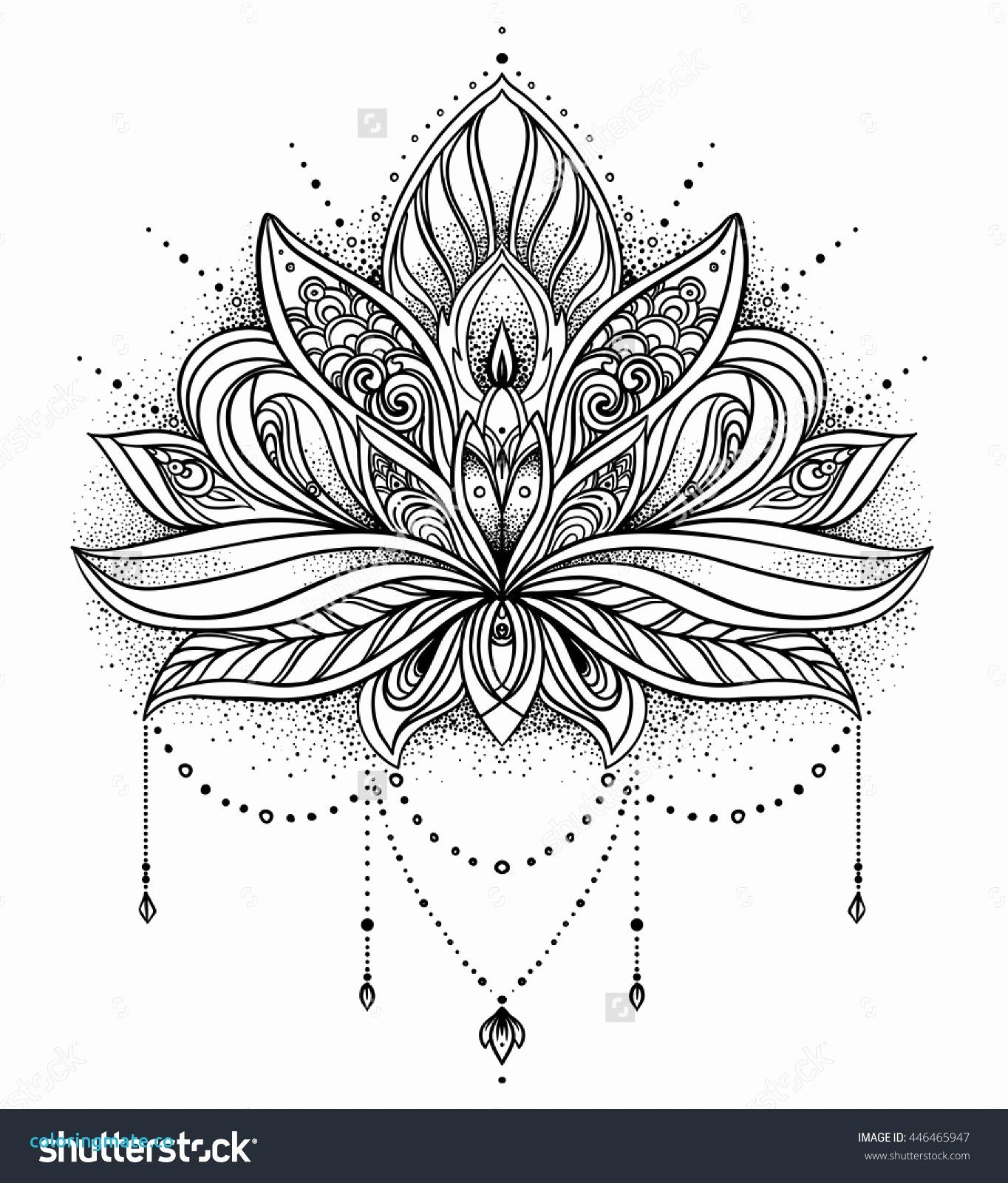 Lovely Dessin Fleur De Lotus Tattoo Tattoos Geometric