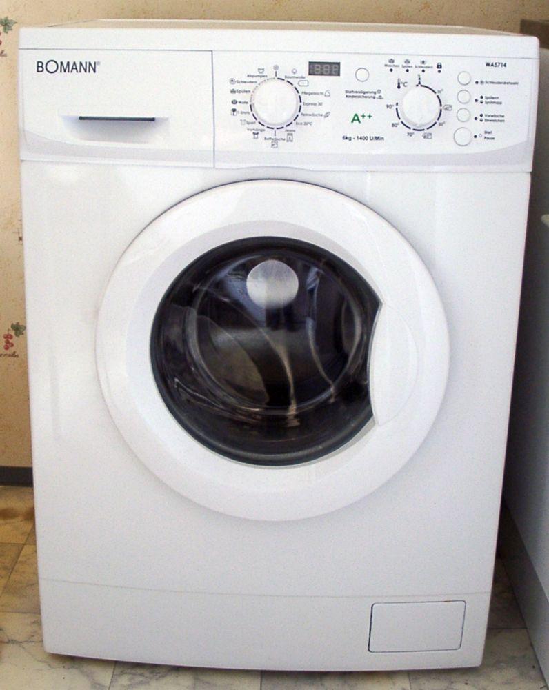 Waschmaschine Bomann 1 Jahr alt A++ / Haushaltsauflösung