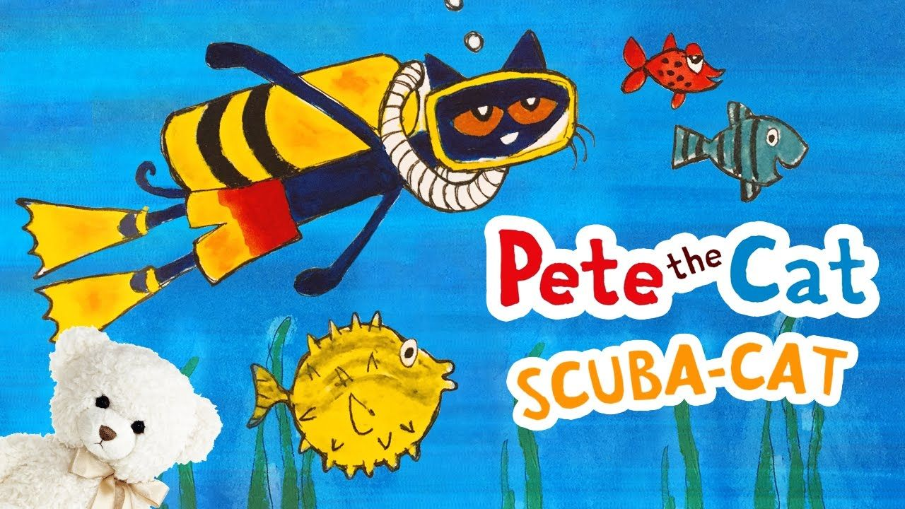 Pete The Cat Scuba Cat By James Dean Children S Book Read Aloud