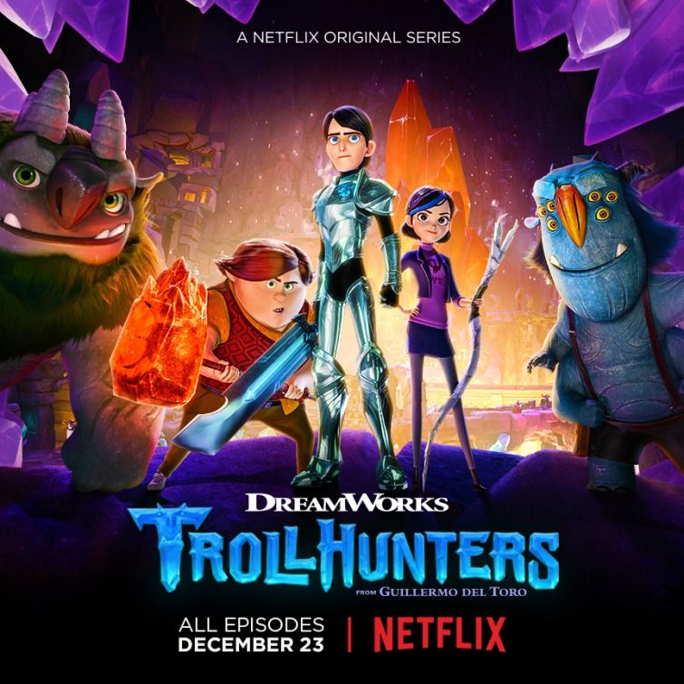 Trollhunters Netflix Animated Series Poster 3