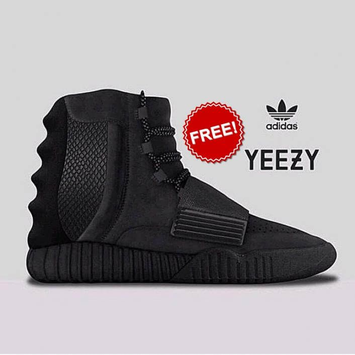 Win Adidas Yeezy Boost 750 Black Giveaway February 2017 adidas giveaway a2a3749b3