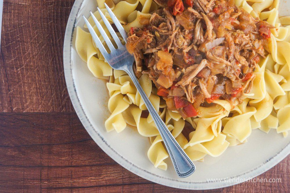 sunday slow cooker pork paprikash recipe smart points. Black Bedroom Furniture Sets. Home Design Ideas