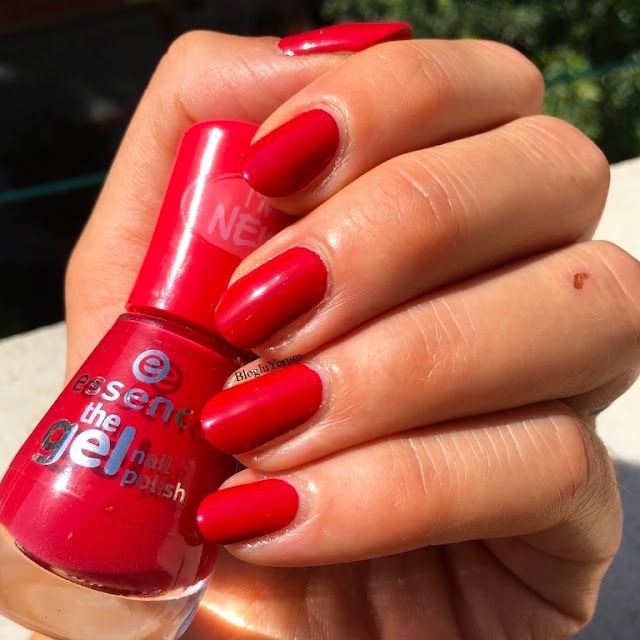 ESSENCE THE GEL NAIL POLISH 92 RED CARPET JEL OJE   Gel nail polish ...